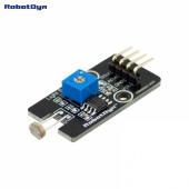 Модуль с датчиком света (аналоговый и цифровой выходы) ардуино