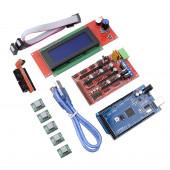Комплект для создания 3D принтера (Mega 2560 R3, RAMPS 1.4, 5 шт A4988, RAMPS 1.4 LCD2004A)