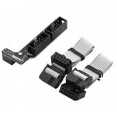 Адаптер для подключения модуля с графическим экраном GrLCD 128x64 к плате расширения(шилд) RAMPS 1.4 Shield
