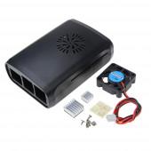 Бокс для Raspberry PI 3 с комплектом охлаждения