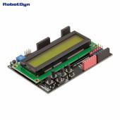 Плата расширения с LCD дисплеем 1602 и кнопками Green  от RD
