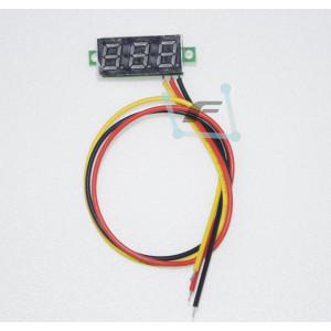 Мини вольтметр-дисплей от 0 до 100в