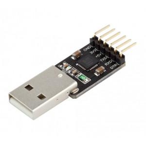 Адаптер USB-TTL-UART-Serial CP2102, 5V/3.3V