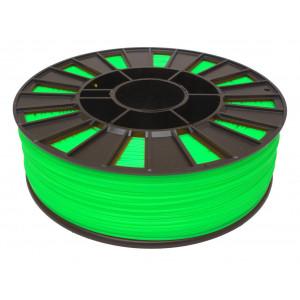 Катушка салатового-флуоресцентного ABS пластика для 3D принтера 0.75 кг, 1.75 мм