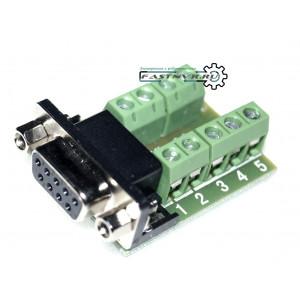 Адаптер RS232 с разъемом DB9 мама