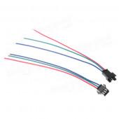 Соединительный кабель питания 100 мм SM-3PIN папа/мама