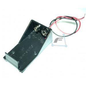 Батарейный отсек для Крона, пластик, 100мм