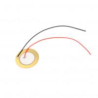 Пьезоэлектрический элемент 35мм с кабелем 15 см