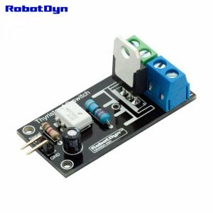 Модуль тиристорное реле переменного тока, 3.3V/5V logic, AC/DC, AC 220V110V/5A (пиковое 10А)