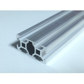 Конструкционный профиль, алюминий,  20x40, 1000мм