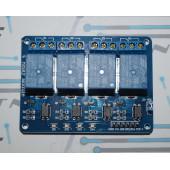 Модуль реле 4-х канальный (12В)