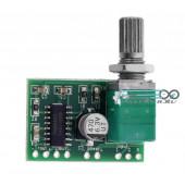 Двухканальный аудио усилитель PAM8403 3Wx2