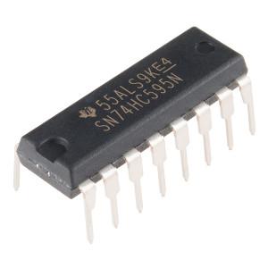 SN74HC595N сдвиговый регистр