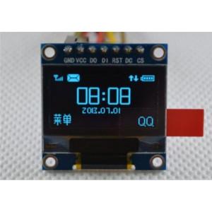 Дисплей OLED 0.96 SPI 128x64 (Blue)
