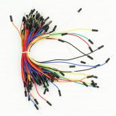 Соединительные гибкие провода 65шт ПАПА-ПАПА