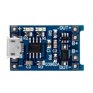 Модуль заряда аккумулятора MICRO USB TP4056 с защитой