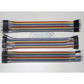 Комплект соединительных проводов 60шт ардуино