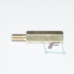 Латунная стойка M3-15mm 6mm