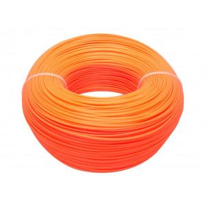 400м оранжевый-флуоресцентный Моток ABS пластика 1.75 мм
