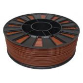 Катушка коричневого ABS пластика для 3D принтера 0.75 кг, 1.75 мм