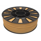 Катушка золотистого ABS пластика для 3D принтера 0.75 кг, 1.75 мм