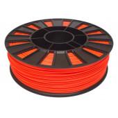 Катушка оранжевого-флуоресцентного ABS пластика для 3D принтера 0.75 кг, 1.75 мм
