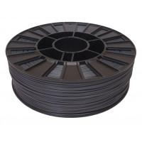 Катушка серого цвета PLA пластика для 3D принтера 0.82 кг, 1.75 мм