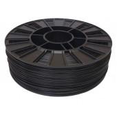 Катушка черного цвета PLA пластика для 3D принтера 0.82 кг, 1.75 мм
