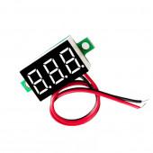 Мини вольтметр-дисплей от 0 до 30в