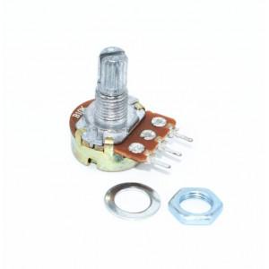 Потенциометр, переменный резистор, 10 кОм, B10K