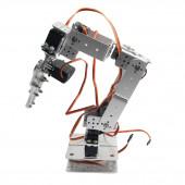 Скелет механической руки робота, 6 направлений движения