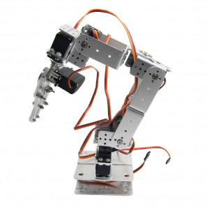 Скелет механической руки робота, 6 направлений движения с приводами