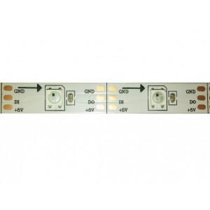 RGB светодиодная лента 1 метр 30 LED с ШИМ чипом WS2812