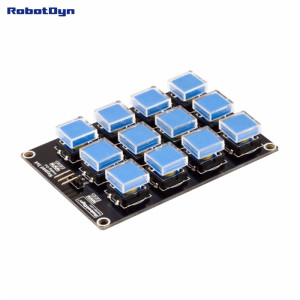 Модуль с клавиатурой 3х4