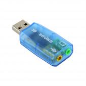 USB звуковая карта Динамик и Микрофон