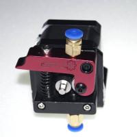 Комплект 2 MK8 механизма протяжки нити пластика в экструдер (левый рычаг)