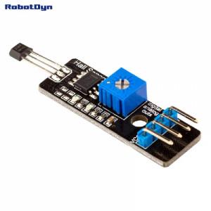 Модуль датчика холла (аналоговый и цифровой выходы) ардуино