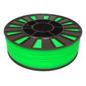 Катушка салатового цвета PLA пластика для 3D принтера 0.82 кг, 1.75 мм