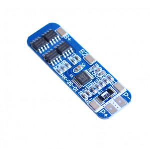 Контроллер заряда-разряда hx-3s-01 трех литийоных аккумуляторов 18650