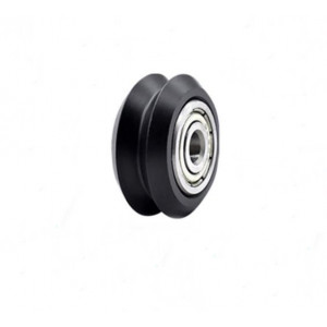 Ролик линейный 5х11х24 V-Slot (колесо для профиля 20мм принтера и лазерного гравера) черный