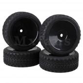 Колеса комплект Mxfans 4 x RC 1:10 с мягкой резиной