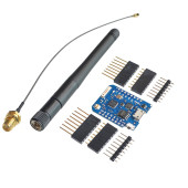 WI-FI контроллер D1 mini pro + Антенна на базе ESP8266EX, MicroUSB, Wemos совместимый