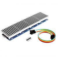 MAX7219 матричный дисплей 4X модуль