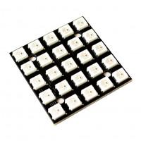 Модуль RGB светодиодов CJMCU-2812-25-квадрат с ШИМ чипом WS2812