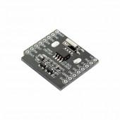 Плата расширения WI-FI D1 mini WeMos - Часы реального времени RTC DS1307 (Real Time Clock) с набором коннекторов