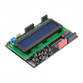 Плата расширения с LCD дисплеем 1602 и кнопками Blue  от RD