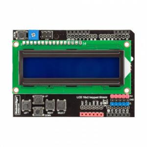 Плата расширения с LCD дисплеем 1602 и кнопками (Русский язык, кириллица) от RD