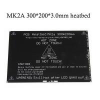 Нагревательный стол алюминиевый MK2a 300x200мм для 3D принтера 12/24в