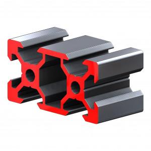 Конструкционный профиль, алюминий,  20x40, 600мм, V-слот (анодированный)