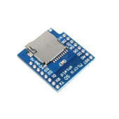 Плата расширения WI-FI D1 mini WeMos с разъемом для карты памяти MicroSD